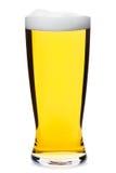 Высокорослое изолированное стекло пива pilsner Стоковые Фотографии RF