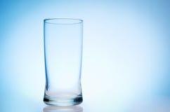 Высокорослое пустое стекло Стоковое Изображение RF