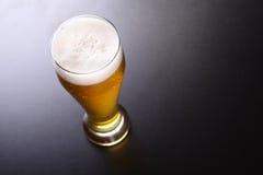Высокорослое стекло светлого пива Стоковое Изображение
