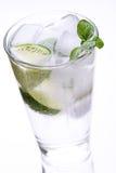 Высокорослое стекло холодной воды Стоковое Изображение