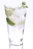 Высокорослое стекло холодной воды Стоковые Фотографии RF