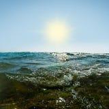 Высокорослые волны Стоковые Изображения