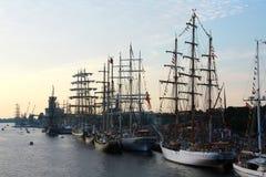 Высокорослые гонки 2013 кораблей Стоковое Изображение