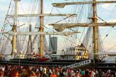 Высокорослые гонки 2013 кораблей Стоковое Фото