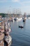 Высокорослые гонки корабля, Szczecin Стоковые Изображения