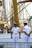Высокорослые гонки 26-ое июля 2013 кораблей. Стоковое Изображение