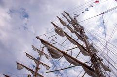 Высокорослые рангоуты корабля Стоковые Фотографии RF