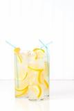 Высокорослые стекла лимонада Стоковое фото RF