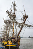 Высокорослый корабль Shtandart Стоковое фото RF