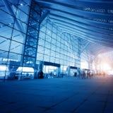 Высокоскоростная железнодорожная станция стоковые фотографии rf