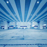 Высокоскоростная железнодорожная станция стоковая фотография rf
