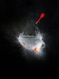 Высокоскоростной воздушный шар взрывает Стоковые Фото