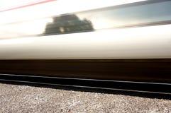 Высокоскоростной конспект пассажирского поезда Стоковая Фотография