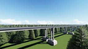 Высокоскоростной поезд maglev видеоматериал