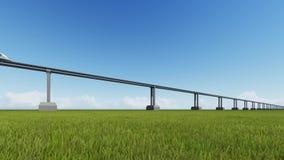 Высокоскоростной поезд maglev акции видеоматериалы