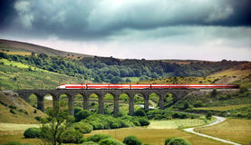высокоскоростной поезд Стоковое фото RF