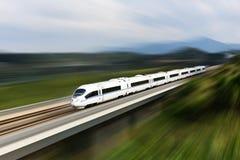 высокоскоростной поезд Стоковые Изображения