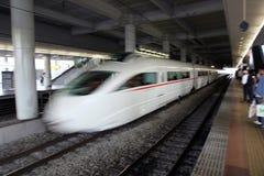 высокоскоростной поезд Стоковые Фото