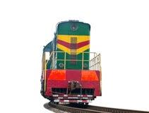 Высокоскоростной тепловозный поезд Стоковые Изображения RF