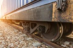 Высокоскоростной тепловозный поезд Стоковые Фотографии RF