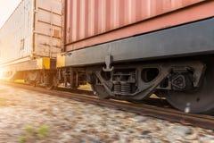Высокоскоростной тепловозный поезд Стоковое Фото