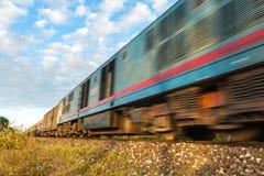 высокоскоростные поезда Стоковое фото RF