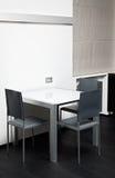 Высокотехнологичная обедая таблица Стоковая Фотография