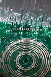 Высокотехнологичная предпосылка технологии Стоковое Фото
