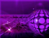 высокотехнологичное абстрактного backg динамически Стоковая Фотография