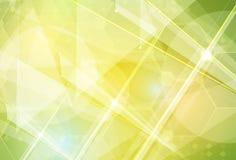 Высокотехнологичная компьютерная технология безграничности зеленого цвета eco Стоковое фото RF