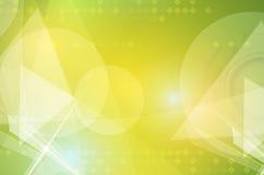 Высокотехнологичная концепция компьютерной технологии безграничности зеленого цвета eco Стоковые Изображения RF