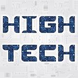 Высокотехнологичная фраза Стоковое Изображение