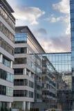 Высокотехнологичное корпоративное офисное здание Стоковое Фото