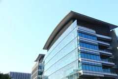 Высокотехнологичные офисы в Гонконге Стоковые Изображения RF