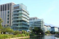 Высокотехнологичные офисы в Гонконге стоковое изображение rf