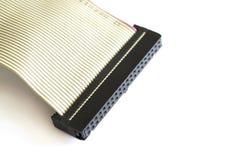 Высокочастотный кабель с изоляцией на шайбах Ide стоковая фотография rf