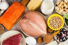 Высоко- еда протеина Стоковое Фото