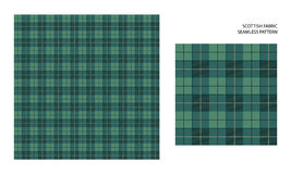 Высоко детальный шотландский тартан иллюстрация штока