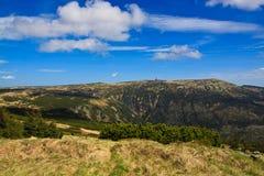 Высоко равнина - чехия Krkonose Стоковые Фото