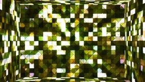 Высок-техник мерцания передачи придает квадратную форму комнате 03 иллюстрация вектора
