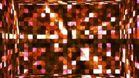 Высок-техник мерцания передачи придает квадратную форму комнате 04 иллюстрация вектора