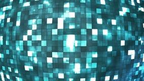 Высок-техник света Firey передачи придает квадратную форму глобусу 06 иллюстрация вектора