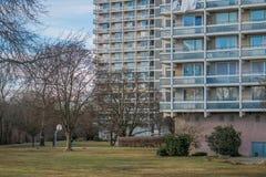 Высотное здание квартиры Стоковые Фото
