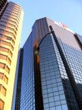 Высотой с Здани Дел Здани-небоскребы и архитектура подъема Стоковые Фото