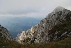Высоты горы Стоковые Изображения RF