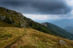 Высоты гор Вогезы Стоковое фото RF