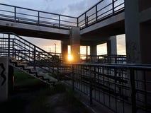 Высоты и мосты Стоковое фото RF