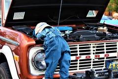 Выставка автомобиля весны стоковые фото