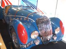 Выставка автомобиля классической гонки обратимая стоковое изображение
