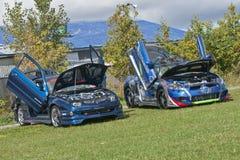 Выставка автомобиля Стоковая Фотография RF